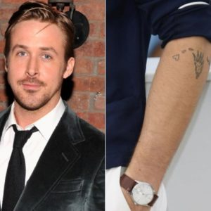 Pin Did Ryan Gosling Get His Daughters Name Tattooed On Knuckles within Ryan Gosling Tattoo - Tattoo A to Z .Com