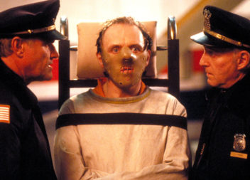 THE SILENCE OF THE LAMBS, Charles Napier, Anthony Hopkins, 1991, (c) Orion/courtesy Everett Collection